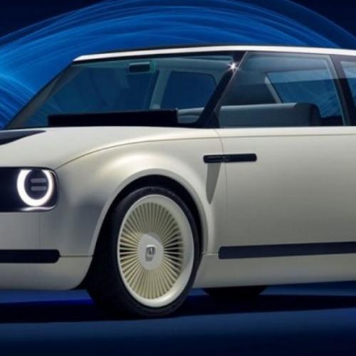 Retro Honda Civic kommer i 2019