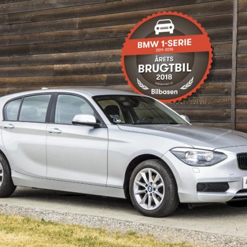 Årets brugtbil 2018 i Danmark er BMW 1-serie