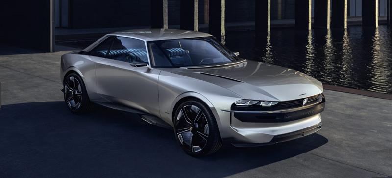Ny Peugeot e-LEGEND