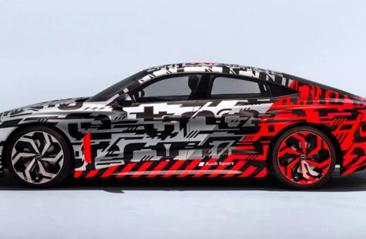 Audi afslører endnu en elbil: Audi e-tron GT