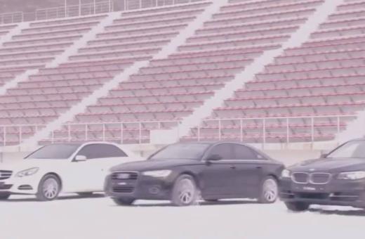 Hvem har det bedste firehjulstræk i sneen: Audi, BMW eller Mercedes?