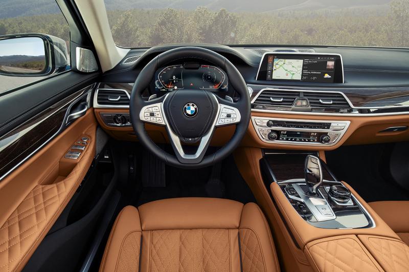 Kabinen i den nye BMW 7-serie