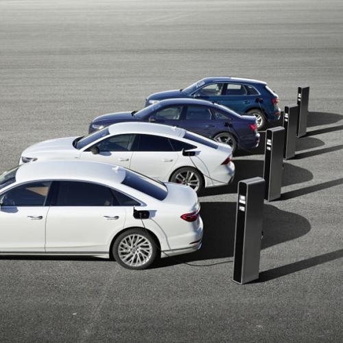 Audi PHEV-modeller