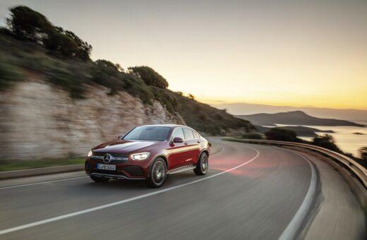 Mercedes-Benz har opdateret GLC coupé