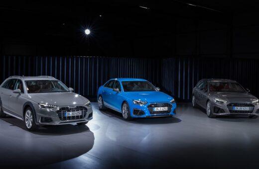 Gennemgribende facelift til Audi A4