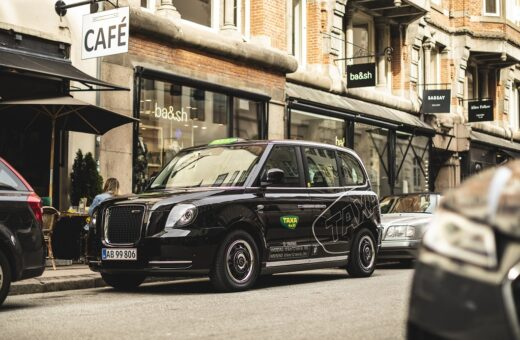El London taxa i Københavns gader